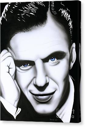 Ol' Blue Eyes Canvas Print by Bruce Carter