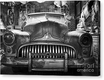 Canvas Print featuring the photograph Ol' Buick Eight by Dean Harte