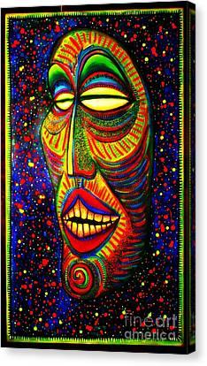 Ol' Funny Face Canvas Print
