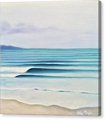 Olas Canvas Print by Kelly Meagher