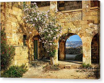 Old Abandoned Hospital In Comino Canvas Print by Stephan Grixti