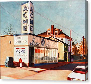 Old Acme Lambertville Nj Canvas Print