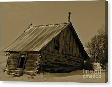 Old Age Canvas Print by Rick  Monyahan