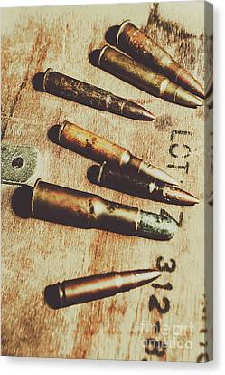 Old Ammunition Canvas Print by Jorgo Photography - Wall Art Gallery