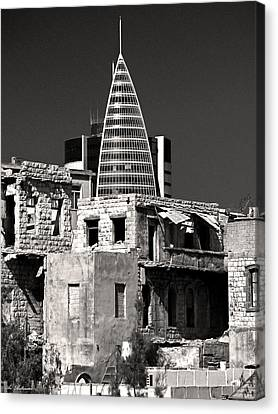 Canvas Print featuring the photograph Old And New by Arik Baltinester