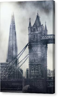 old and new London Canvas Print by Joana Kruse