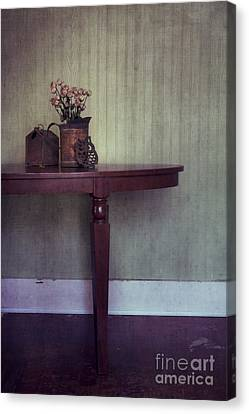 Old And Rusty Canvas Print by Priska Wettstein