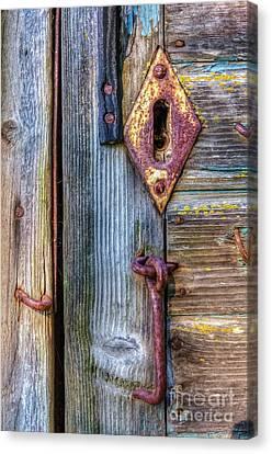 Rust Canvas Print - Old And Rusty by Veikko Suikkanen