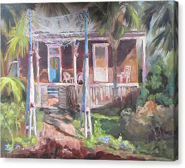 Old Apalach Canvas Print by Susan Richardson