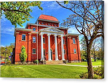 Old Ashe Courthouse Canvas Print