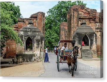 Old Bagan Canvas Print by Werner Padarin