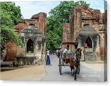Old Bagan Canvas Print