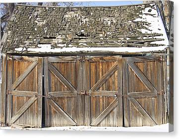 Old Barn Canvas Print by James BO  Insogna