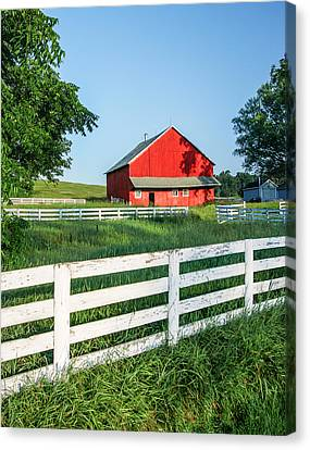Shed Canvas Print - Old Barn by Todd Klassy