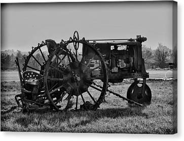 Old Betsy Canvas Print by Bill Cannon