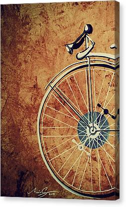 Old Bicycle-part One Canvas Print