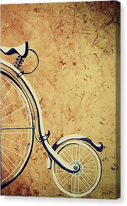 Old Bicycle-part Two Canvas Print