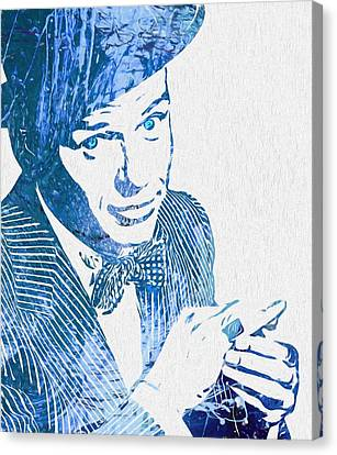Old Blue Eyes Canvas Print by Dan Sproul