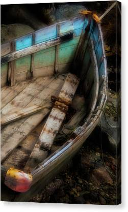 Old Boat 2 Stonington Maine Canvas Print by David Smith