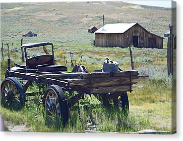 Old Bodie Wagon Canvas Print