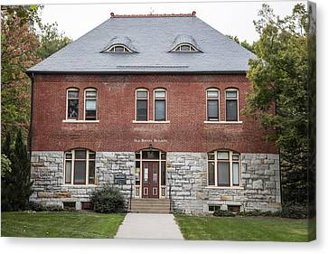 Old Botany Building Penn State  Canvas Print by John McGraw