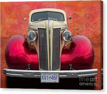 Old Buick Canvas Print by Jim  Hatch