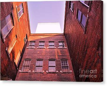 Old Building In The Pointe Canvas Print by Reb Frost