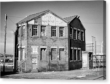 Collingwood Canvas Print - Old Building South Collingwood Dock Liverpool Docks Dockland Uk by Joe Fox