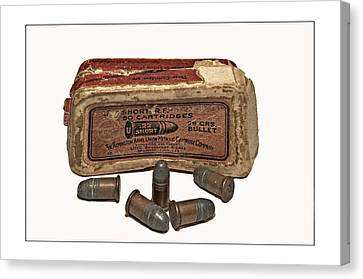 Old Bullets Canvas Print