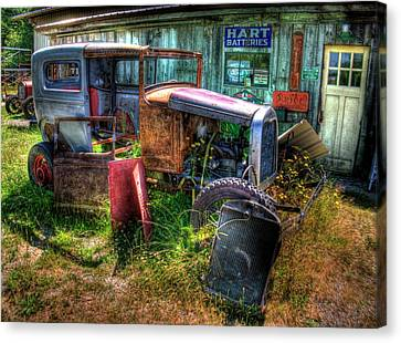 Old Car 3 Canvas Print by Lawrence Christopher