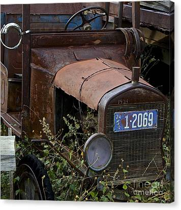 Old Car Canvas Print by Anthony Jones