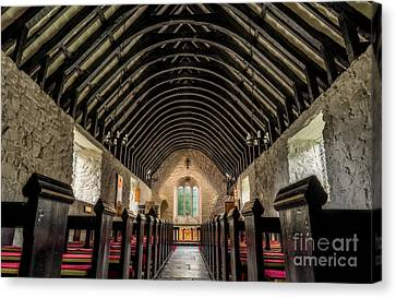 Old Chapel Canvas Print by Adrian Evans