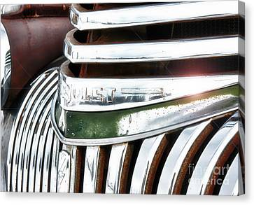 Old Chevy Canvas Print by Beve Brown-Clark Photography