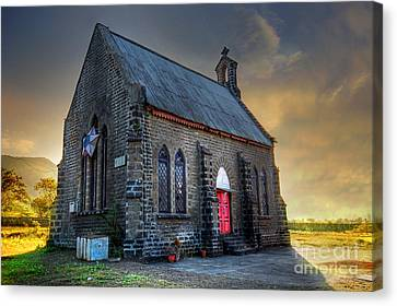 Church Canvas Print - Old Church by Charuhas Images