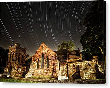 Old Church Canvas Print by Edgars Erglis