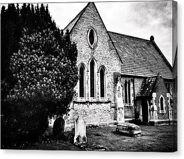 Old Church Canvas Print by Andrew Hunter