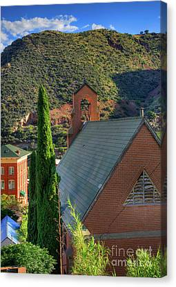 Old Church In Bisbee Canvas Print
