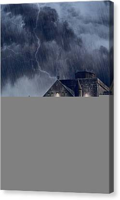 Old Church Canvas Print by Joana Kruse
