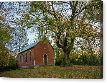 Old Church Canvas Print by Randall Branham