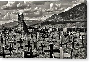 Old Church Taos Pueblo Canvas Print