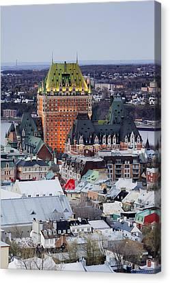 Old City Skyline Canvas Print by Jeremy Woodhouse