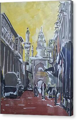 Old City  Canvas Print by Zeyad Ibraheem