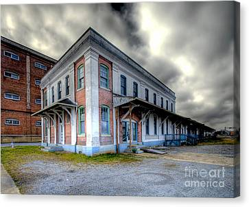 Old Clinchfield Train Station Canvas Print