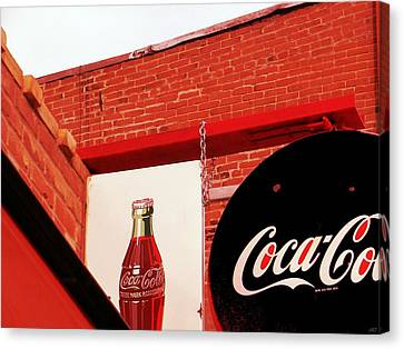 Old Coke Canvas Print