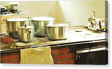 Old Colombian Kitchen Canvas Print by HQ Photo