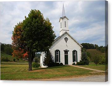 Old Concord Church Canvas Print