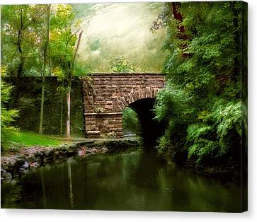 Old Country Bridge Canvas Print