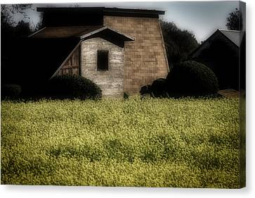 Old Country Buildings Canvas Print by Garry Gay