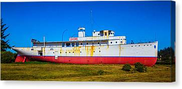 Old Cruse Liner Canvas Print