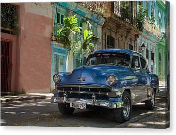 Old Cuban Car Canvas Print